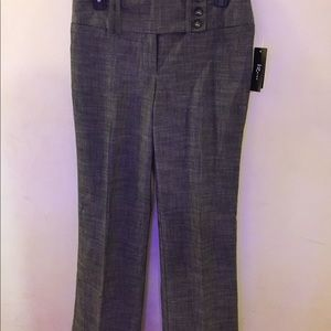 IZ Byer dress slacks, dark/marled grey